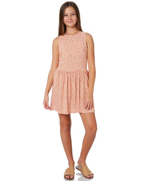 PEACH KIDS GIRLS THE HIDDEN WAY DRESSES + PLAYSUITS - H6201443PEACH