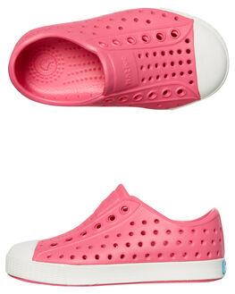 HOLLYWOOD PINK KIDS TODDLER GIRLS NATIVE FOOTWEAR - 13100100-5626