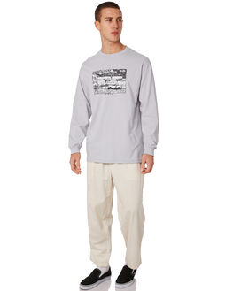 ICE GREY MENS CLOTHING POLAR SKATE CO. TEES - STRAIGHTHOODIGRY