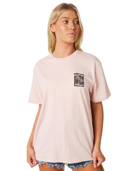 ASH ROSE WOMENS CLOTHING BILLABONG TEES - 6581006ASHR