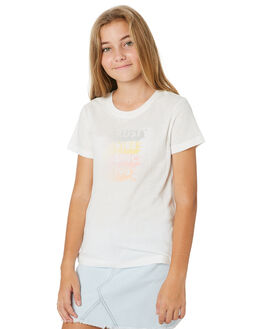 BRIGHT WHITE KIDS GIRLS RUSTY TOPS - TTG0003BTW