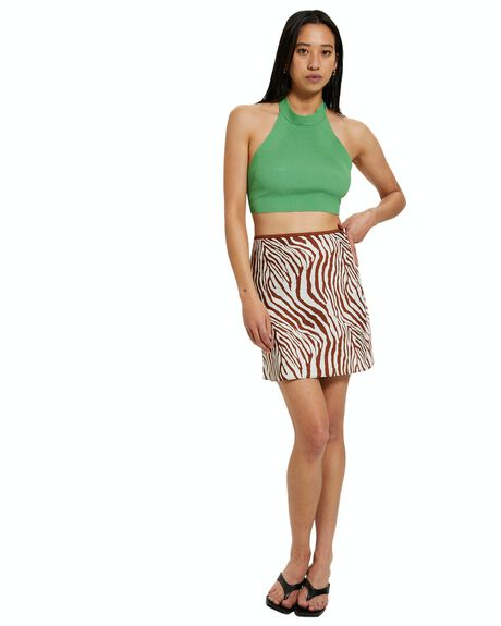 GREEN WOMENS CLOTHING ALICE IN THE EVE FASHION TOPS - 40876800026