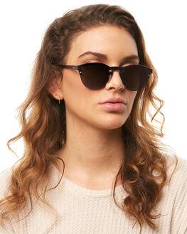 MATT BLACK ROSE GOLD WOMENS ACCESSORIES ROXY SUNGLASSES - ERJEY03069XKKN