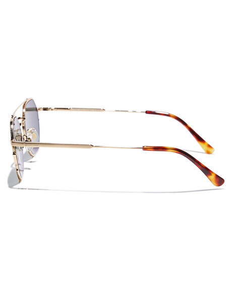 BRUSHED GOLD TORT MENS ACCESSORIES CRAP SUNGLASSES - JAZZS724PGBGDTO