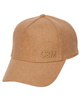 CAMEL WOMENS ACCESSORIES CAMILLA AND MARC HEADWEAR - RCMA118CAM