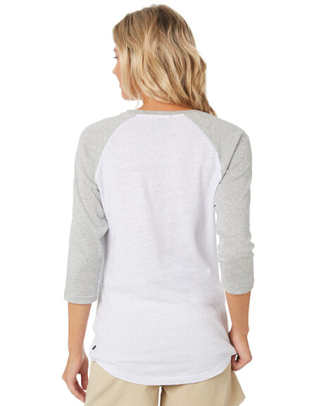GREY MARLE WOMENS CLOTHING RUSTY TEES - TTL1065GMA