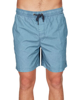 CHINA BLUE MENS CLOTHING RVCA SHORTS - RV-R191311-CNU