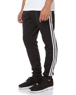BLACK MENS CLOTHING ADIDAS ORIGINALS PANTS - AJ6960BLK