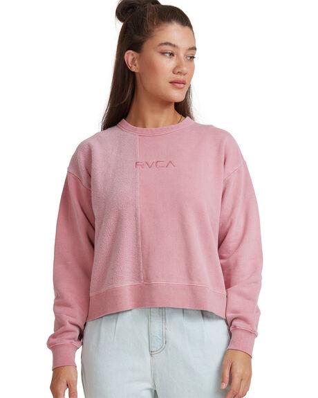 FOXGLOVE WOMENS CLOTHING RVCA HOODIES + SWEATS - RV-R217157-FXG