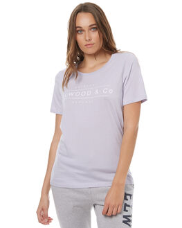 LILAC WOMENS CLOTHING ELWOOD TEES - W73110LILAC