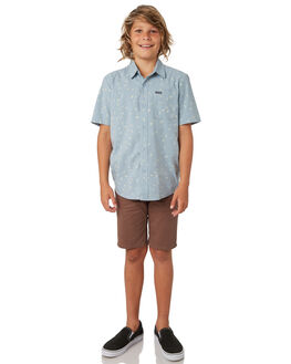 SLATE BLUE KIDS BOYS VOLCOM TOPS - C0441803SLB