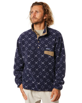 GOSHAWK NEW NAVY MENS CLOTHING PATAGONIA JUMPERS - 25580GWNE