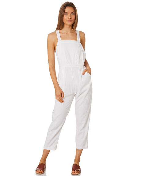 WHITE WOMENS CLOTHING RUE STIIC PLAYSUITS + OVERALLS - SA19-41-W1