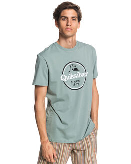 CHINOIS GREEN MENS CLOTHING QUIKSILVER TEES - EQYZT05753-GKB0
