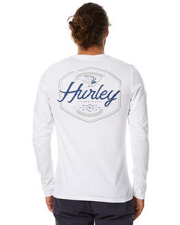 WHITE MENS CLOTHING HURLEY TEES - AMTLTMTA
