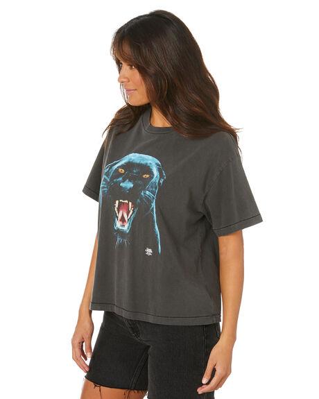 MERCH BLACK WOMENS CLOTHING THRILLS TEES - WTH20-109BMMBLK
