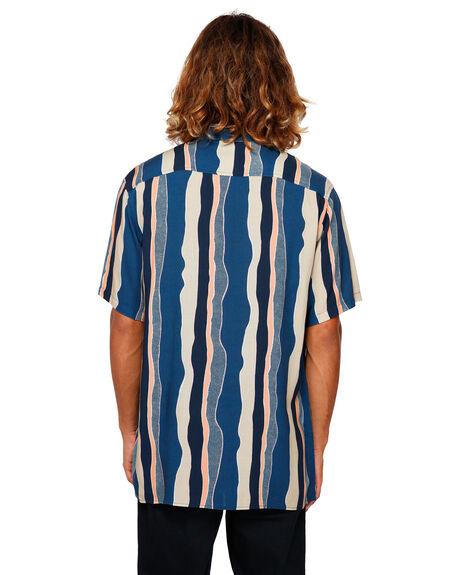 DARK BLUE MENS CLOTHING BILLABONG SHIRTS - BB-9591215-B69