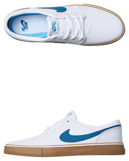 WHITE BLUE GUM MENS FOOTWEAR NIKE SNEAKERS - 880268-149