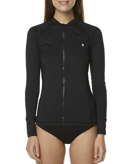 BLACK SURF RASHVESTS HURLEY WOMENS - AGRVPLS00A