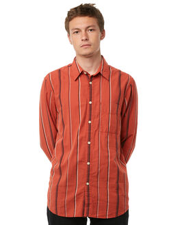 MADRAS STRIPES MENS CLOTHING NUDIE JEANS CO SHIRTS - 140526C24