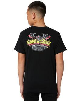 BLACK KIDS BOYS SANTA CRUZ TOPS - SC-YTB0415BLK