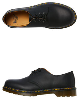 BLACK MENS FOOTWEAR DR. MARTENS FASHION SHOES - SS11838001BLKM