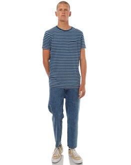 DARK INDIGO MENS CLOTHING DEUS EX MACHINA TEES - DM71782DIND