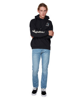BLACK MENS CLOTHING QUIKSILVER JUMPERS - EQYFT04003-KVJ0