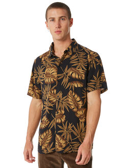 BLACK OUTLET MENS SWELL SHIRTS - S5184185BLACK