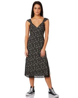 BLACK WOMENS CLOTHING VOLCOM DRESSES - B1331878BLK
