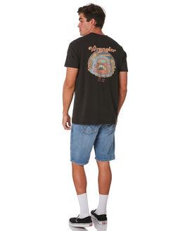 WORN BLACK MENS CLOTHING WRANGLER TEES - 901636082