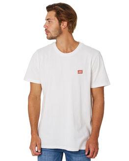 VINTAGE WHITE MENS CLOTHING LEE TEES - L-601991-066