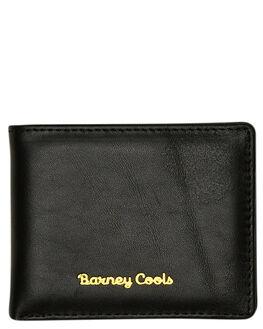 BLACK MENS ACCESSORIES BARNEY COOLS WALLETS - A24-CC4BLK