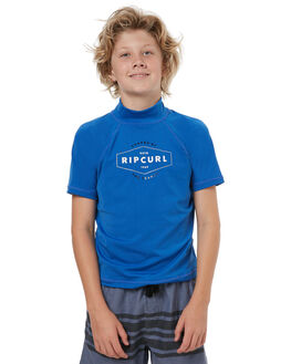 BLUE SURF RASHVESTS RIP CURL BOYS - WLY7GB0070