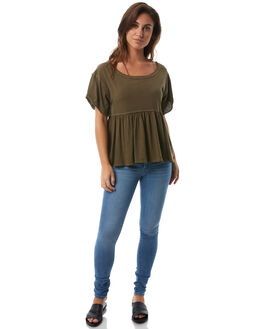 ARMY WOMENS CLOTHING FREE PEOPLE FASHION TOPS - OB5628503352