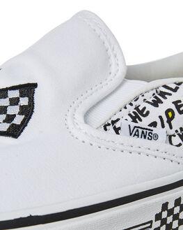 BLACK TRUE WHITE WOMENS FOOTWEAR VANS SNEAKERS - SSVNA38F7U7BWHTW