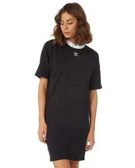 BLACK WOMENS CLOTHING ADIDAS DRESSES - DH3184095A