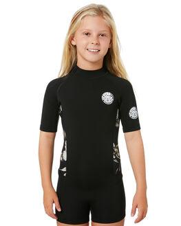 BLACK BLACK BOARDSPORTS SURF RIP CURL GIRLS - WSP8BJ1619