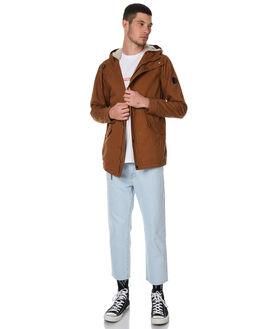 TOBACCO MENS CLOTHING GLOBE JACKETS - GB01737001TOB