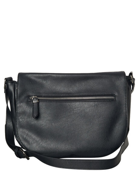 BLACK WOMENS ACCESSORIES THERAPY BAGS + BACKPACKS - BN-2944-PIBLK