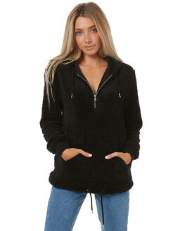 BLACK WOMENS CLOTHING SWELL JUMPERS - S8172543BLK
