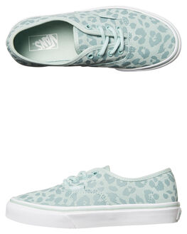 HARBOUR GRAY KIDS GIRLS VANS SNEAKERS - VNA38H3OEZHGY