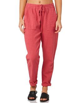 VINTAGE ROSE WOMENS CLOTHING RUSTY PANTS - PAL0994VRS