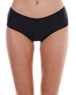 BLACK WOMENS SWIMWEAR SWELL BIKINI BOTTOMS - S8174336BLACK