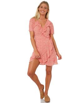 FIESTA WOMENS CLOTHING BILLABONG DRESSES - 6581494MRED