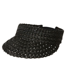 BLACK WOMENS ACCESSORIES RUSTY HEADWEAR - HVL0278BLK