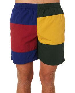 MULTI MENS CLOTHING STUSSY BOARDSHORTS - ST091608MULTI