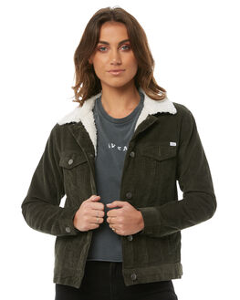 MILITARY GRE WOMENS CLOTHING RVCA JACKETS - R283432MILT