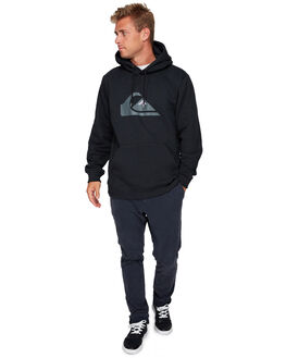 BLACK MENS CLOTHING QUIKSILVER JUMPERS - EQYFT03922-KVJ0