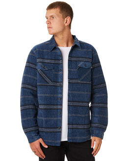 HEATHER NAVY MENS CLOTHING O'NEILL SHIRTS - HO8104214BLUX